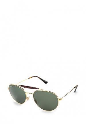 Очки солнцезащитные Ray-Ban® RB3540 001. Цвет: золотой