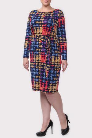 Платье Amazone. Цвет: мультиколор