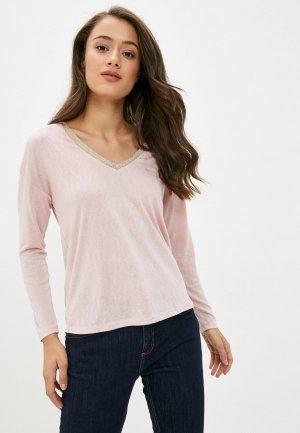 Пуловер Springfield. Цвет: розовый