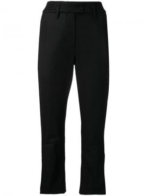 Укороченные брюки Ann Demeulemeester. Цвет: черный