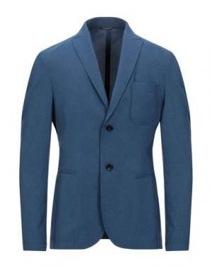 Пиджак DANIELE ALESSANDRINI HOMME. Цвет: грифельно-синий