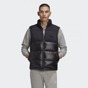 Утепленный жилет Regen Originals adidas. Цвет: черный