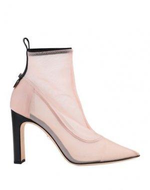 Полусапоги и высокие ботинки GREY MER. Цвет: розовый