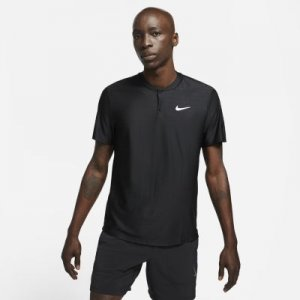 Мужская теннисная рубашка-поло Court Dri-FIT Advantage - Черный Nike