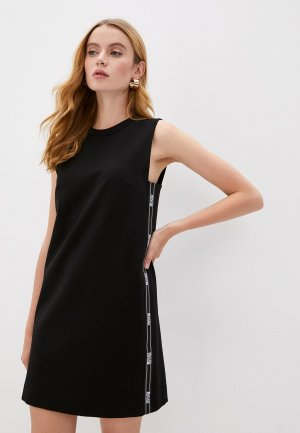 Платье Versace Jeans Couture. Цвет: черный