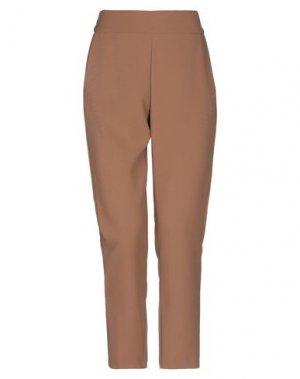 Повседневные брюки KARTIKA. Цвет: коричневый