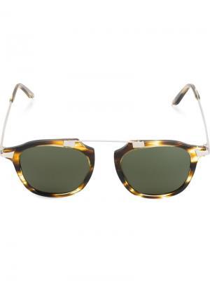 Солнцезащитные очки Eleventy. Цвет: телесный