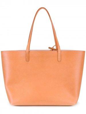 Большая сумка-тоут Mansur Gavriel. Цвет: нейтральные цвета