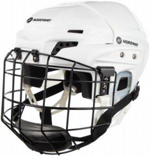 Шлем хоккейный детский с маской 3 JR Nordway. Цвет: белый
