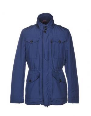 Куртка BARACUTA. Цвет: синий