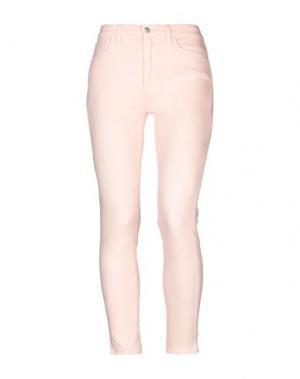Джинсовые брюки JOE'S JEANS. Цвет: розовый