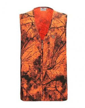 Куртка FJALLRAVEN. Цвет: оранжевый
