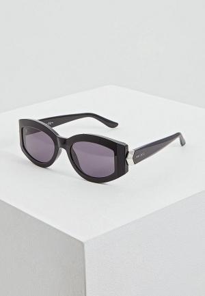 Очки солнцезащитные Jimmy Choo ROBYN/S 807. Цвет: черный