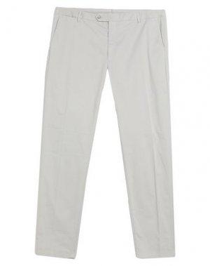 Повседневные брюки HACKETT. Цвет: светло-серый