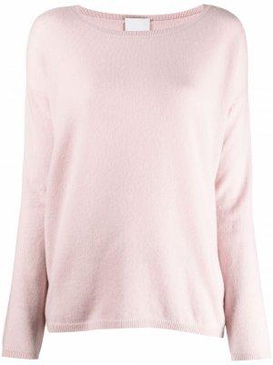 Кашемировый джемпер тонкой вязки Allude. Цвет: розовый