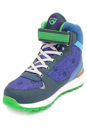 Ботинки Angry Birds. Цвет: синий