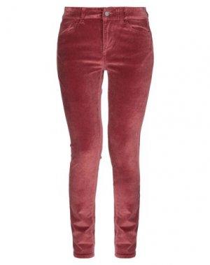 Повседневные брюки DL1961. Цвет: кирпично-красный