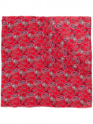 Саронг с принтом пейсли Zadig&Voltaire. Цвет: красный