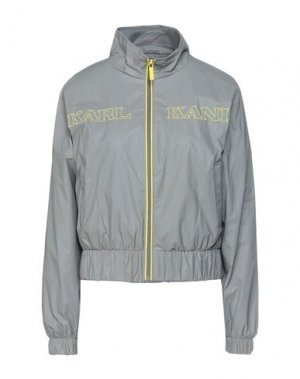 Куртка KARL KANI. Цвет: серый