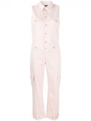 Комбинезон с карманами карго Jacob Cohen. Цвет: розовый