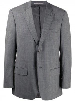 Однобортный пиджак 2000-х Valentino Pre-Owned. Цвет: серый