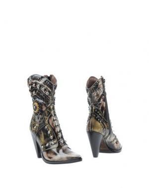 Полусапоги и высокие ботинки EL VAQUERO. Цвет: стальной серый