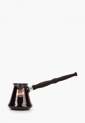 Турка Ceraflame Ibriks, 350 мл. Цвет: коричневый