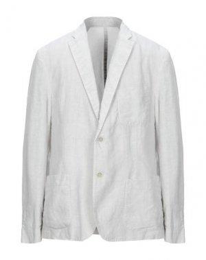 Пиджак 120%. Цвет: светло-серый