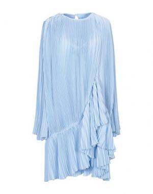Короткое платье KRIZIA. Цвет: небесно-голубой