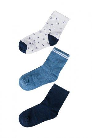 Носки (3 пары) для мальчиков 5.10.15.. Цвет: разноцветный