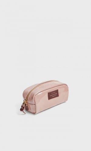 Лакированная Косметичка Женская Коллекция Цвет Розового Макияжа 103 Stradivarius. Цвет: цвет розового макияжа