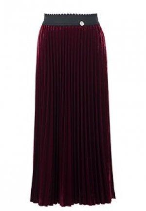 Юбка MARIA GRAZIA SEVERI. Цвет: бордовый
