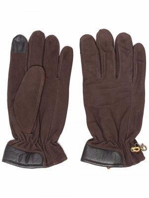 Перчатки с кулиской Timberland. Цвет: коричневый