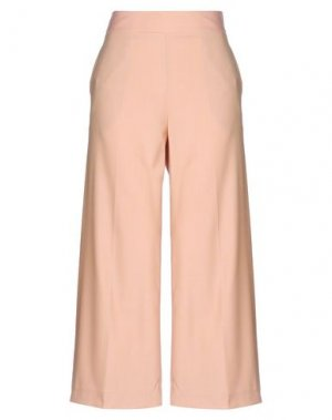 Повседневные брюки GOSSIP. Цвет: телесный