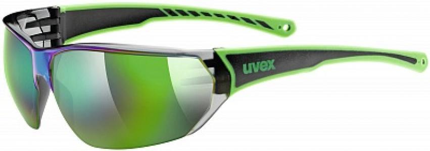 Солнцезащитные очки Sportstyle 204 Uvex. Цвет: черный
