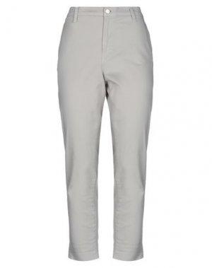 Повседневные брюки J BRAND. Цвет: светло-серый