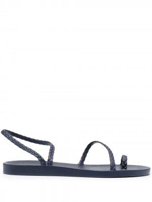 Резиновые сандалии Eleftheria Ancient Greek Sandals. Цвет: синий