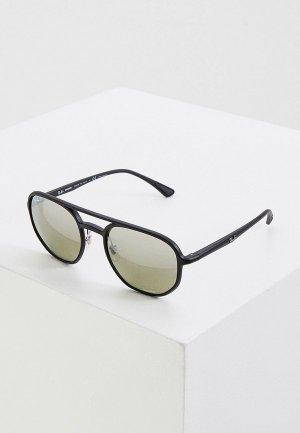 Очки солнцезащитные Ray-Ban® RB4321CH 601S5J, с поляризацией. Цвет: черный