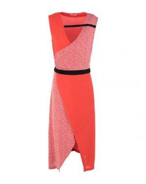 Платье до колена 2ND DAY. Цвет: красный