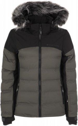 Куртка утепленная женская Blackbird, размер 44 Protest. Цвет: серый