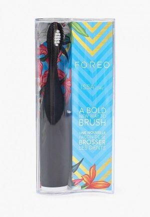 Электрическая зубная щетка Foreo ISSA play Cool Black. Цвет: черный