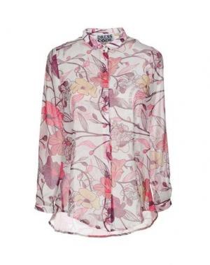 Pубашка DRESS CODE. Цвет: белый