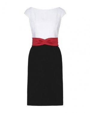 Короткое платье BOTONDI COUTURE. Цвет: белый