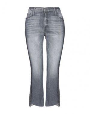 Джинсовые брюки BLACK ORCHID. Цвет: серый