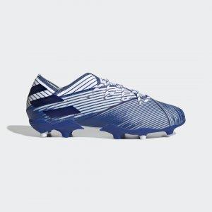 Футбольные бутсы Nemeziz 19.1 FG Performance adidas. Цвет: синий