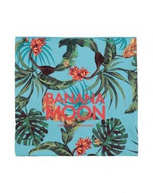 Пляжное полотенце BANANA MOON. Цвет: небесно-голубой