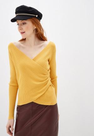 Пуловер By Swan. Цвет: желтый