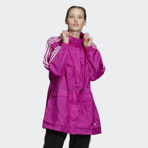 Ветровка Originals adidas. Цвет: розовый