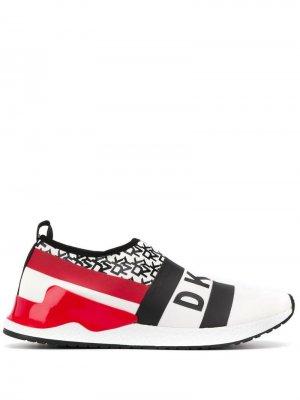 Классические слипоны DKNY. Цвет: белый