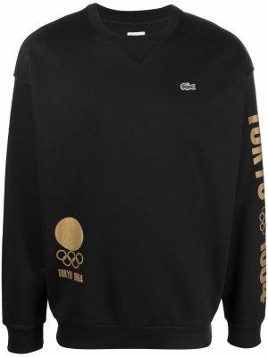 Свитер Olympics Tokyo 1964 Lacoste. Цвет: черный